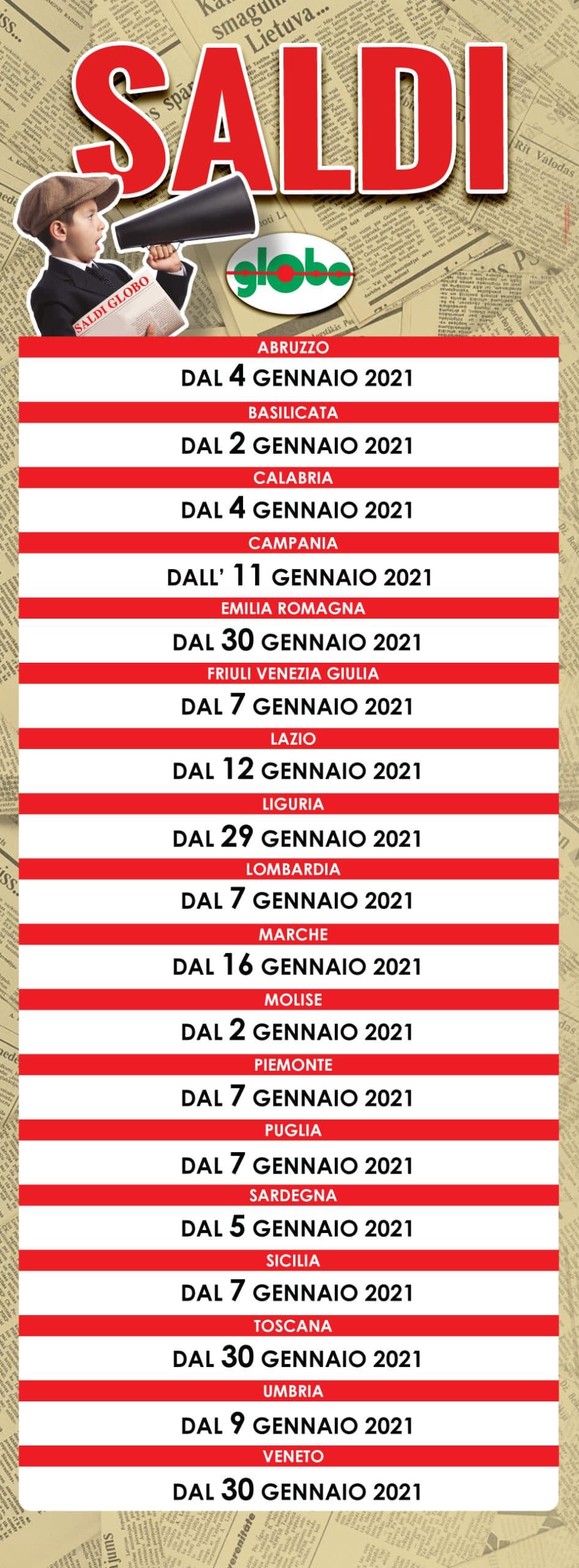Inizio saldi invernali 2021 - Calzature, Abbigliamento, Sport ...